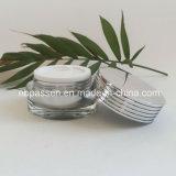 Nuovo vaso crema acrilico di arrivo 15/20g per l'imballaggio di Skincare (PPC-NEW-138)