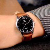 Reloj barato de Yazole del precio de la dial hombres de la manera de la venta al por mayor compacta del reloj de 318