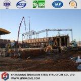 高力鉄骨構造のプレハブの金属の倉庫か小屋または建物