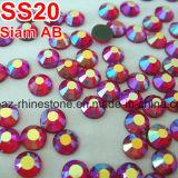 Pegamento de Ss20/5mm Tailandia Ab en el Rhinestone de la parte posterior de la hoja de los Rhinestones (FB-ss20 Tailandia ab)