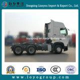 Vrachtwagen van de Tractor van de Tractor van Sinotruk hOWO-T7h 400HP-540HP de Hoofd4X2