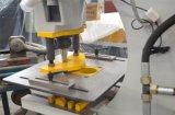 /China를 금을 내기를 가진 유압 철공, 펀칭기 /Hydraulic에 의하여 결합된 구멍을 뚫고는 및 깎는 기계는 철공을 만들었다