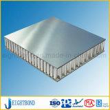 Colore di alluminio di superficie spazzolato dell'argento del comitato del favo