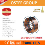 金属のスプール0.8mm中国の製造業者の固体ミグ溶接ワイヤー(ER70S-6)
