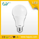 Ângulo largo 10W da luz de bulbo do diodo emissor de luz da tampa transparente A60