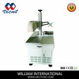 Machine de gravure d'inscription de laser de fibre en métal et de non-métal