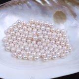 шарики перлы 8-9mm круглые естественные пресноводные