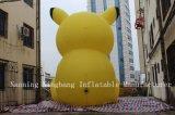 Dessin animé populaire géant Pikachu gonflable pour extérieur