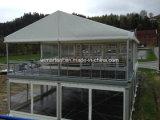 Подгонянный ясный шатер шатёр двойного Decker пяди для свадебного банкета