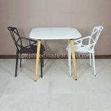 Kaffee-Gaststätte-Tisch Konstantin-Grcic mit dem hölzernen Bein und Stuhl (SP-CT346)