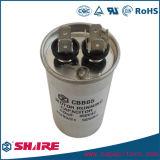 Capacitor de alumínio do escudo Cbb65 da alta qualidade 500VAC