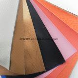 Кожа PU синтетическая для продуктов тканиь одежд кожаный