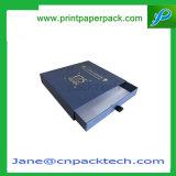Caja de almacenamiento personalizada Caja de cajones Caja de papel Caja de paquetería