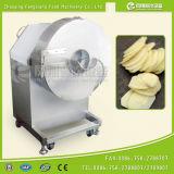 Большой тип промышленный сладкий картофель откалывает обломоки банана подорожника Slicer режа делающ машину