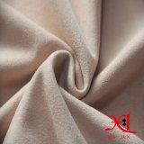 Alta tela del ante del Spandex del poliester del estiramiento para la ropa/la alineada