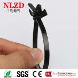 Dehnbare winged Kabelbinder des Stärke Stosses Montierung für binding&fixing Autokabel