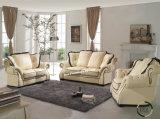 Sofá novo original popular do couro da sala de visitas do projeto da mobília Lz1788 de Lizz