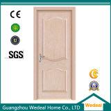 Porte intérieure en bois massif en PVC de haute qualité pour les maisons