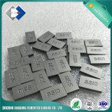 El carburo de tungsteno del corte de la piedra caliza de la calidad superior inclina Ss10