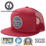 2017 OEM buena moda gris Microfiber Snapback Cap con logotipo de bordado