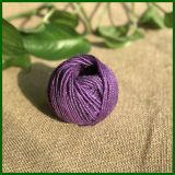 Colorido teñido yute Cordel para la fabricación de alfombras