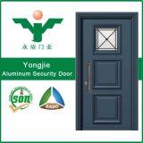 Puerta antirrobo de aluminio doble del bloqueo de seguridad