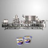 Máquina de relleno automática del lacre de la taza del yogur de 100 ml