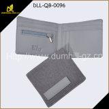 A carteira da tela para homens com parte externa material de harmonização interna da tela do plutônio para a promoção