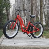 Bicicleta gorda elétrica da praia da fêmea 26 ' (RSEB-506)
