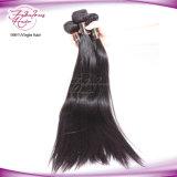 Cabelo humano de Remy da cor natural do Weave do cabelo do Virgin do Mongolian de 100%