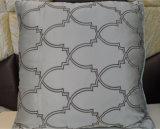 Almohadilla decorativa del terciopelo de la manera del amortiguador del bordado (EDM0346)