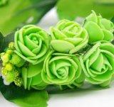 Венок Rose пузыря горячего сбывания искусственний Handmade флористический зеленый