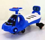 Material plástico e passeio no carro dos miúdos do balanço do bebê do estilo do brinquedo