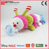 Tracteur à chenilles matériel sûr de jouet de peluche pour le bébé