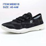 Los zapatos de los deportes de las zapatillas de deporte de los más nuevos hombres de la manera al por mayor modifican para requisitos particulares (MB9018)