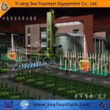 Fuente de la dimensión de una variable del agua de la combinación de la música de los multimedia en universidad