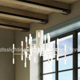 Aufhebung-GoldIron&Glass Leuchter-Licht des modernen Entwurfs-2017 mit G4