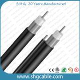 Alta qualidade CATV Qr540 com cabo coaxial do tronco do mensageiro