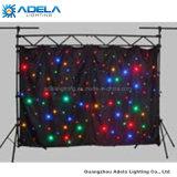 LED 별 커튼 LED 피복 배경 (1개의 색깔 2 색깔 주문을 받아서 만들어지는 4개의 색깔)