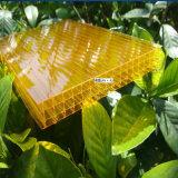 Низкая цена поликарбоната с высоким светлым листом Difussion полым для сада