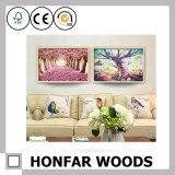 Картинная рамка коллажа Bamboo деревянная для декора