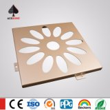 Spécial CNC Cutting Craftwork Hexagon Aluminium Screen / Decorative Metal Carved Panels