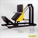 Gymnastik-Geräten-bearbeiten Handelseignung-Maschinen-Sitzbein-Rotation/Platte einprogrammiert Geräten-Hammer-Typ eine 45 Grad-Übungs-Gewicht frei Bft-1009 maschinell