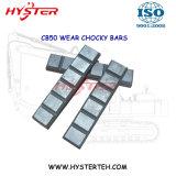Bimetallische weiße Eisen-Abnützung Chocky blockt 700hb