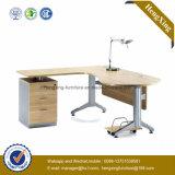 シンプルな設計のオフィスの管理表のL形の中国のオフィス用家具(NS-NW106)