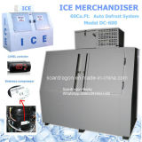 60cu. FT. Freezing Ice Merchandiser Model DC-600 with Defrost Judicial ruling System