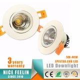 5W LED Plafonnier Downlight Spot Luminaire d'éclairage encastré Down Light