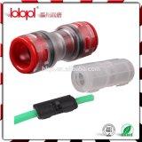 Optische BuitenDiameter 8mm van de vezel Micro- Micro- van de Buis Koppeling voor de Buis van Vezels