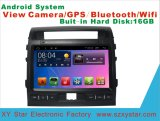 Navigation androïde de véhicule de système pour le croiseur de cordon écran tactile de 10.1 pouces avec GPS/Bluetooth/TV/MP3/MP4