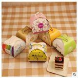 Los rectángulos de torta de encargo baratos del rectángulo de la maneta de la magdalena venden al por mayor